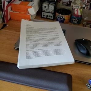 Finished book manuscript