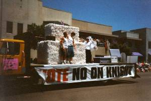 San Diego Pride 1999 float