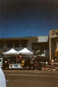 MC at San Diego Pride 1999
